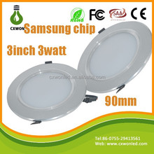 3 INCH 5730 led downlight cheap low price 5 watt led suspended ceiling downlights with ce rohs saa