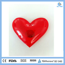 Hotable fashion Instant plastic PVC microwave hot packs/soft material in multiply use