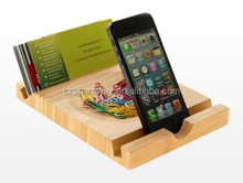 Hot sale bamboo wood cell phone stand wholesale Phone Stand Holder