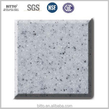 acrylic resin solid surface artificial marble countertop 14 years Manufacturer