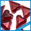 Heart HPHT synthetic ruby rough stone for best price per carat