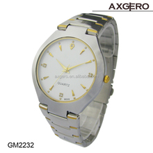 Hot Sale 5 ATM Water Resistant Stainless Steel Watches Geneva Quartz Stainless Steel Watch Water Resistant