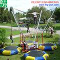 plataforma bungee trampolín, bungee trampolín móvil, equipos de salto bungee