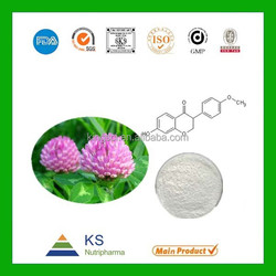 Professinal Manufacturer supply 100% Natural Red Clover Extract isoflavones powder