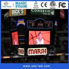 NBA Full Color LED electronic basketball scoreboard,led electronic digital gymnastics scoreboard