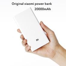 Original XIAOMI Power Bank 20000mAh Dual USB Out 5.1V 3.6A for smartphone