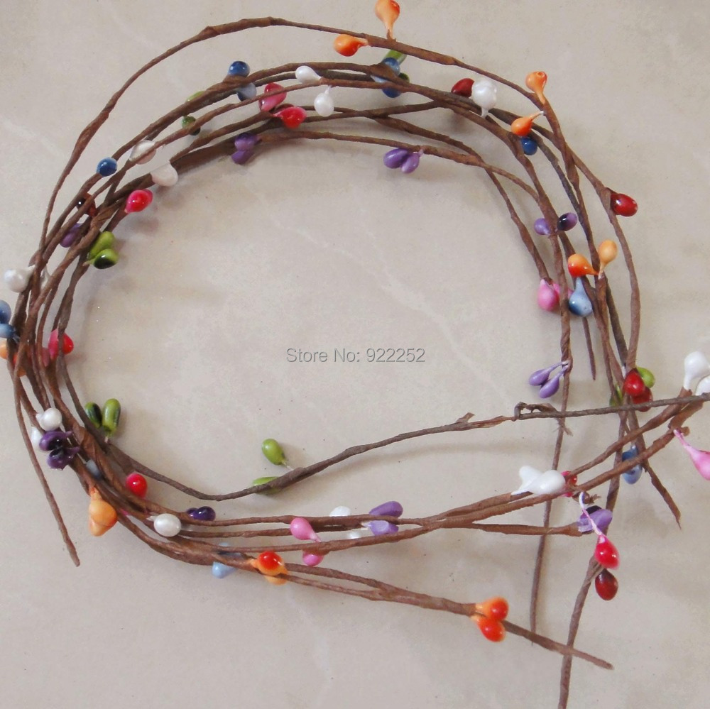 40cmartificial Rattan Canefloral Wire Dried Branches With Mini Oppo F1s Case Ring Excellent Gloom Abcopf1stgre Pear Budspip Berry Garland Accessoriesfloral Headhair Wreath Us704