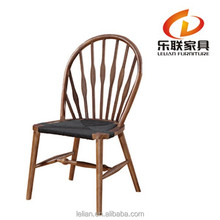 Indoor wood chair China Chair designed by Hans J. Wegner chair wood and rope seat A013