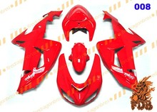 FDB ZX10R Ninja 06 07 Aftermarket Fairing Bodywork Cowling Fairing Kits Face Cover ABS Injection Moulding 008 plain red