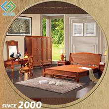 China Manufacturer Wood Frame Expensive Bedroom Furniture Spain