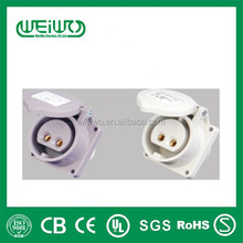 WL1231 made in china low current plugs IP44 16a