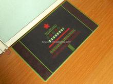 Polyester printed modern door mat