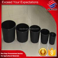 hot sale round flower pots plastic liners
