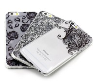 For iPhone 6 case for iPhone5 6s plus mobile phone cover with sexy lace 3D style bustyle logo