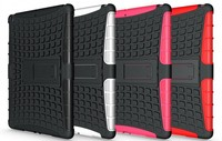 wholesale!! Rugged Tire Hybrid Case w/ Built in Kickstand for ipad air