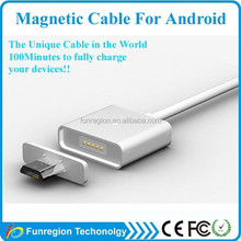 USB magnetic cable adapter charger cable for all Android IOS mobile Phone