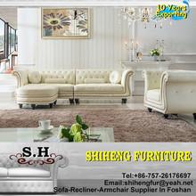 Antique Design Sofa Imported Leather Sofa Design Furniture A953