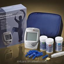 Легко работать мочевой кислоты, Уровень холестерина многофункциональный глюкозы в