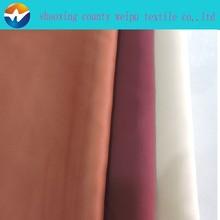 100% shiny polyester felt satin fabric