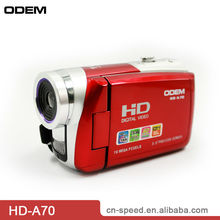 "720p Full HD Professional Camcorder with 12mp 3.0""TFT LCD for Promotional (HD-A70)"