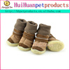 New style pet shoes, dog shoes with leopard print