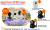 Crazy promotion!!! Dual Audio P2P Function Network Home Security System Mini WIFI IP Camera
