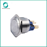 22mm round illuminated momentary electrical supplies 36v best price waterproof led push button light switch
