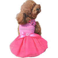 Wholesale pet wedding dresses clothes for dogs IPET-PC15
