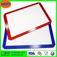 Reinforced Silicone and Fiberglass Baking Mat