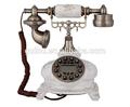 frete grátis branco polyresin retro aparelho telefônico para o mercado europeu mercado asiático