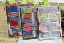 14pcs Manicure Nail Appliques 100% Real Nail Polish Strips US and EU Compliant Nail Art Stickers