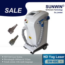 2014 Hottest Tattoo Removal keyword q switched nd yag laser
