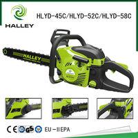 2015 New Chain Saw Machine Price Petrol Wood Saw Cutting Machine Gasoline Chainsaw