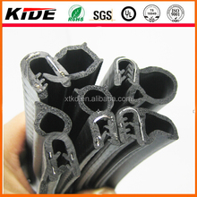 China EPDM rubber pinchweld door trim seal with steel insert for automotive /car/cabinet