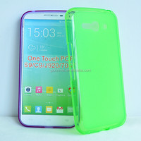 For Alcatel One Touch POP C9 TPU soft back skin, shell cover for Alcatel phone