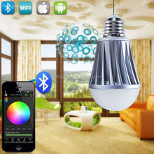Tan led lighting bulbs with bluetooth wifi,iso and anodrid led controller wifi rgb