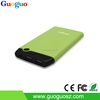 New Product 10000mah Power Bank Ultra thin Plasitc Case High Capacity Mobile Power Bank for Smartphone