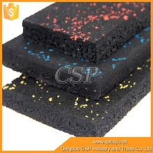 Outdoor basketball court rubber floor tile for playground