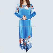 longo vestido de muçulmano abaya indonésia roupas para mulheres gordas