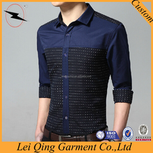 Factory supply directly top tailored man shirt