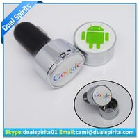 Multiple Mobile Phone Car Charger with cap,high end car charger with gift box