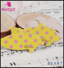 Wholesale children and babies cute fish hair snap clip fancy hair ornament accessory