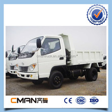 Best- selling T- King 4x2 5 ton in white light truck for good performance