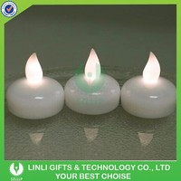 Hot Sale Plastic Floating Promotional LED Candle
