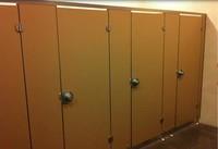 compact laminate toilet cubicles