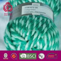 1.1NM/2 good quality acrylic polyester hand knitting yarn