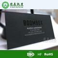 goldern relieve negro para imprimir la tarjeta de papel