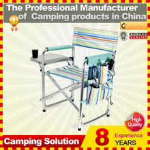 Outdoor metal frame director chair for camping picnic