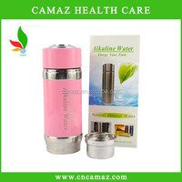 2015 New design nanometer energy cup/alkaline nano energy water cup with pink color, in stock now!!!