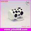 espresso mug /cup V Shape Small Ceramic Coffee Mug with Saucer for Coffee Set Bone china coffee mug with saucer
